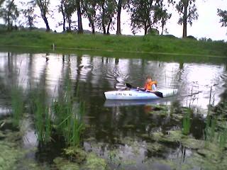 Noah Kayaking