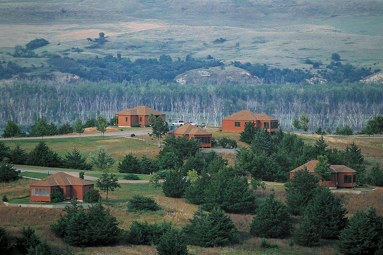 Cabins at Niobrara State Park